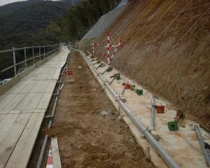 501基礎コンクリートの施工